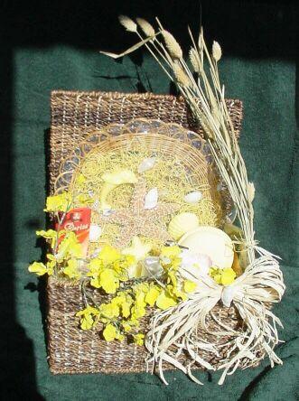 Beautiful Botanical Bathing Baskets