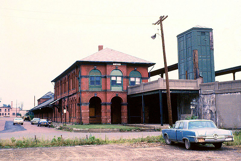Erie Railroad station, Elmira, NY | The former Erie ...
