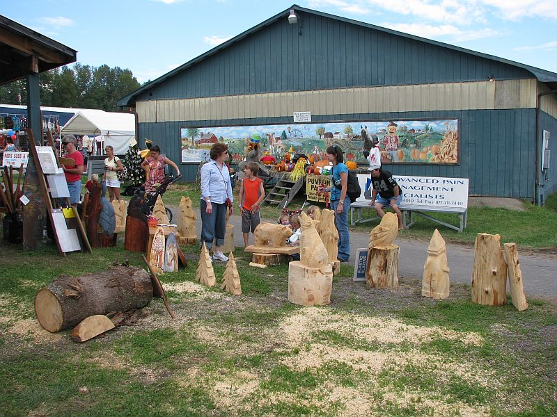 Chainsaw wood carving allentown hershey quakertown